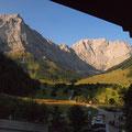 In der Eng mit 'Großer Ahornboden' und den Laliderer Gipfeln