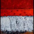 Rot Abstrakt XL-Rahmen 90 x 60