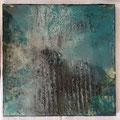abstraktes Bild mit Resinüberzug 40 x 40 cm