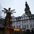 Geschlossener Weihnachtsmarkt auf dem Plan, 04.12.11.