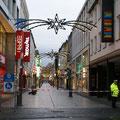 So leer sieht man die Löhrstraße nur selten, 04.12.11.