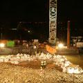 Vorbereitungen für die Entschärfung, Aufnahme vom 02.12.11.