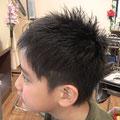 キッズヘアスタイル