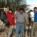 Fabian, Igradil, Felipe et Luis