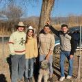 Samuel, Cristina, Jacky et Max, les suisses d'Osma