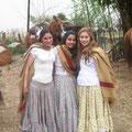 Tenues de gauchas - Alejandra, Paula et Evelin