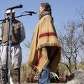 Avec le Gallo Pinto pour un petit discours