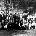 Учащиеся Кицковской школы. 1957г.