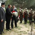 Recreación de la batalla de Westerplatte, Parque Forestal de Vicálvaro, 9 de junio de 2013 (Imagen publicada por  polonia.es)