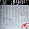 Michael Jackson BAD (EU 1987, EPIC / EPC 450290 1)