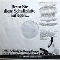 Vorderseite Innenhülle von Polydor  (Album unbekannt, frühe 1970er)
