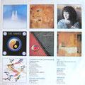 LP-Reklame der Künstlern die auf dieser LP zu finden sind - V.A- Atmospheres (Epic CBS 2697 - Holland 1986)