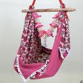 maasa Babyhängematte pink flower 1