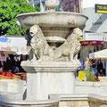 Morozini square (venetian fountain).