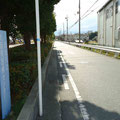 木戸 国立病院横 垣根の撤去。見晴らしを良くしました。