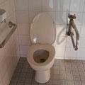 上原第1公園 トイレ便座蓋の修理