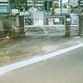 木戸2丁目 南海千代田変電所 溝蓋の設置