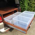 5teiliges-Boxenset für den VW Multivan - ihr bestimmt was ihr mitnehmt