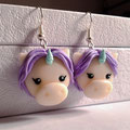 Chibi Unicorn Earrings