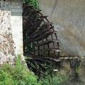 Roue du moulin de la Benâtre