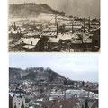 65_1457_Blick auf Unternahmer und Schloss, um 1930 und 2006