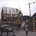 28_555_Umsetzen der Fachwerkhäuser 1983