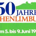 54_1275_750 Jahr Feier Logo 8. Juni 1980