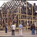 28_557_Umsetzen der Fachwerkhäuser 1983