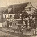 46_2704_Reher Weg. Kohlmanns Gastwirtschft mit Kolonialwarenladen und Saal. Heute Alt Reher Stübchen.(WR)  1910
