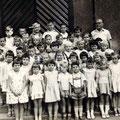 62_1414_Volksschule Elsey Klasse mit  Herrn Ribbert 1960,61