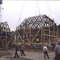 28_558_Umsetzen der Fachwerkhäuser 1983