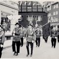 19_333_Schützenfest, Herrenstraße Ecke Preinstraße 1963