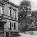 """29_582_Unternahmerstraße  """"Zum Adler"""" 1930, Inh.  Albert Stahl, erbaut um 1900, 1919 vom ATS Nahmer erworben"""