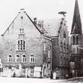 27_2896_Hohenlimburger Amtsgericht mit Gefängnistrakt, wurde 1973 Abgerissen. Stennertstr. Ecke Weinhof
