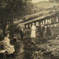 29_600_Bei Törnig im Garten Uferstraße 1905