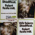 54_1276_750 Jahr Feier Plakat