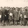 62_2933_Reher Volksschule, Schulentlassung 1961