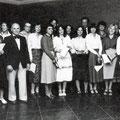 64_1449_Elseyer Krankenhaus. Krankenpflegeschüler nach bestandenem Examen 1978