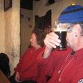 Im Irish Pub beim gemütlichen Ausklang