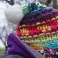 auch das war eine gute Idee, die Mütze! nass und kalt war's heute