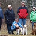 Regensburger Spaziergang, 11. März 2012, der erste Teil der Gruppe ist schon da!