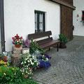 Ruhebank beim Meindlhof im Bayerischen Wald