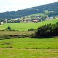 Blick auf Lindenau im Bayerischen Wald