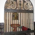 estuco a la cal Capilla Bautismal (Iglesia de La Puebla del Río)