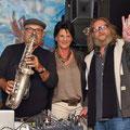 """Vernissage von Johann Holzfeind Wieltschnig unter dem Titel """"Kopfbilder"""" im Kunstcafe Lidmansky in Klagenfurt am 8. September 2015"""