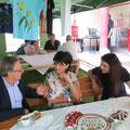 Besuch bei der Volkshilfe am 25. Juli 2014