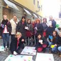 Tag gegen Gewalt an Frauen im November 2013