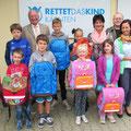"""Schulstart mit """"RETTET DAS KIND"""" Kärnten - Schultaschenaktion"""