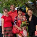 Beim Muttertagsfest der SPÖ Maria Saal im Mai 2013