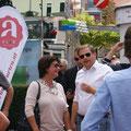 Auftakt der Wahlkampftour 2017 mit Bundeskanzler Christian Kern im August 2017